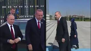 Turkish State Visit Reception For Russia