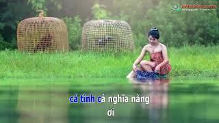Karaoke CHUYỆN TÌNH BÊN AO CÁ - Ngô Quốc Linh