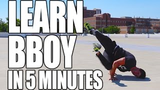 Learn How to Bboy In Only 5 Minutes | ASAP