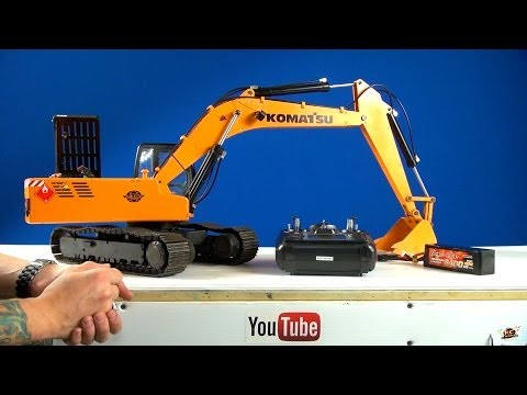 RC ADVENTURES Powerful 1 12 Scale Earth Digger 4200XL RC Excavator Hydraulic Electric