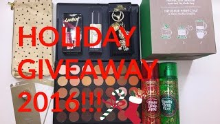 HOLIDAY GIVEAWAY 2016 (CLOSED) | Shaniah Thompson