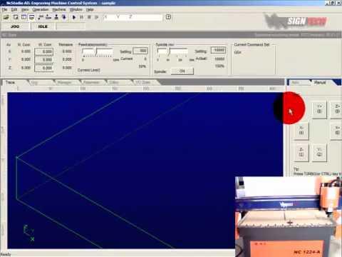 การใช้งาน CNC ตอน การควบคุมเครื่อง CNC