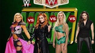 WWE2k16 match Natalya vs Becky Lynch vs Charlotte vs Stephanie McMahon WWE Women's Championship
