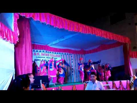 Bhangra mix dance by Sdm inter college students