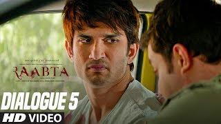 Raabta Dialogue Promo 5 : Aadmi Hi Aadmi Se Pyaar Krta Hai