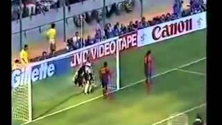 Rene Higuita the sturbon colombian goal keeper