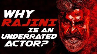 Why Rajinikanth is an Underrated Actor? | WHY5? 01