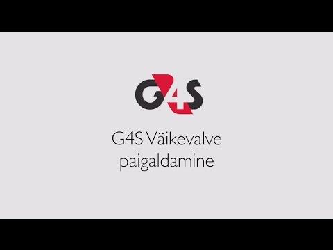 G4S Väikevalve videojuhend