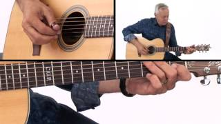 Tommy Emmanuel Guitar Lesson - Classic Fingerstyle Licks Demo