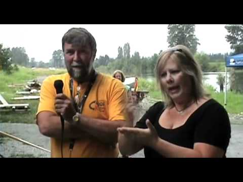 Denise & Craig at BC Disablity Game - Drive TV Vancouver
