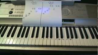 With Ur Love- Piano Lesson- Cher Lloyd (ft Mike Posner)  (Todd Downing)