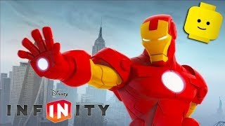 IRON MAN Cartoon Games for Kids | DISNEY INFINITY 2.0 Avengers Video Game for Children