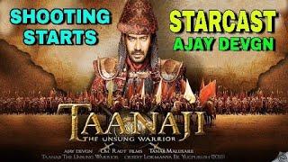 """Ajay Devgn Starrer Upcoming Periodic Movie """"Tanaji"""" Shooting Starts, Starcast Final, Kajol, Saif Ali"""