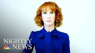 Kathy Griffin On President Donald Trump: 'I'm Gonna Be Honest: He Broke Me' | NBC Nightly News