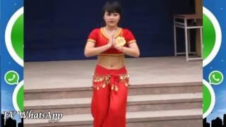 Indian Girl Dance In School, Very Beautiful Indian Girl Dancing For WhatsApp