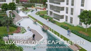 Lumion 8.0 pro 3D Animation Film | Luxury Landscape Design | Marin City Trabzon | AHMED Abdulrahman