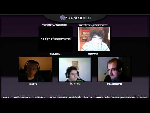 Stunlocked podcast #3 with Saffie, Ciarz, Hotted and Hildegard!