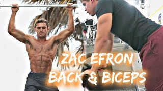 Official Zac Efron Workout DAY 2 Back & Biceps