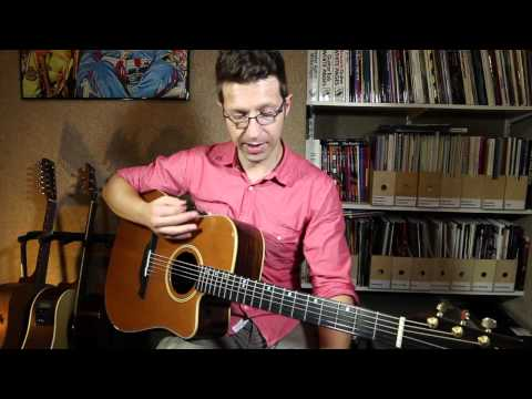 Essential Guitar Techniques #15: natural harmonics (guitar lesson)
