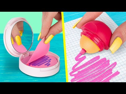 11 DIY Weird School Supplies You Need To Try School Pranks And Life Hacks