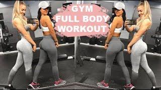 Gym Full Body Workout w/ Bella Rahbek