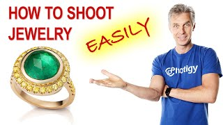 Jewelry photography tutorial: an easy and simple way to shoot jewelry on a table