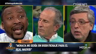 """CONGO: """"Cuando uno SE VA DEL MADRID es cuando SIENTE EL FRÍO REAL, y MORATA TIENE FRÍO"""""""