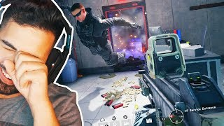 First time playing CASTLE - Rainbow Six Siege