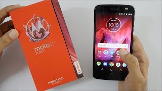 Moto Z2 Force with 6GB RAM Unboxing & Overview (Indian Unit)