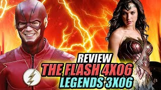 ¡THINKER Y WONDER WOMAN! - The Flash 4x06 y Legends 3x06 Review