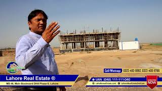 DHA Peshawar Latest Development Street View Update by Lahore Real Estate April 2019