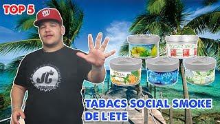 TOP 5 DES TABACS SOCIAL SMOKE DE L'ÉTÉ