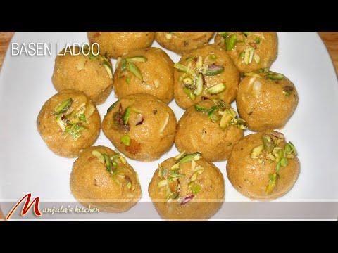 Besan Ladoo Recipe by Manjula, Indian Sweets