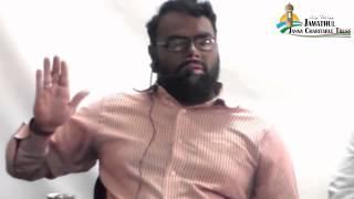 Tamil Islam Convert Saifullah MABL @ Prabu Way to Paradise Class