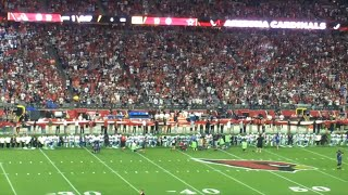Arizona Crowd Boos as Dallas Cowboys Kneel