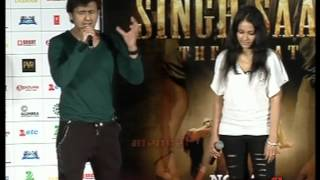 Sonu Nigam Sings Live Song Film Singh Saab The Great