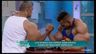 SUPER POP 05/08/15 REDETV - Luta de Braço dos Fortões