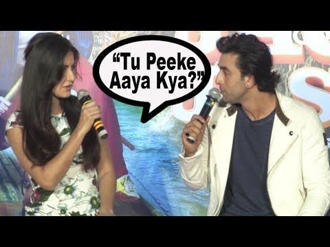 Katrina Kaif INSULTS Ranbir Kapoor   Jagga Jasoos: Galti Se Mistake Song LAUNCH