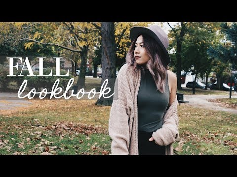 Fall Fashion Lookbook 2017 | AUTUMN OUTFITS