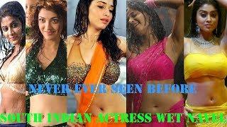 (Never Seen Before) Best South Indian Actress Wet Navel Scenes