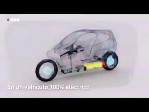 Una moto que no vuelca cuando choca. Electrica con velocidad 160 km h y una autonomia de 250 km