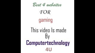 TOP 4 Websites to Download PC Games for Free (2016) [NO VIRUSES]