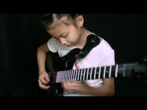 Far beyond the sun-Yngwie, Cover by 9 year old  girl YOYO(Pinxi Liu) from China