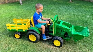 Funny stories about unboxing Tractors - compilation
