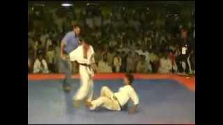 Pakistan kyokushin karate Amir Khan Best knockoutk
