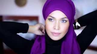 Hijab Tutorial The Arabian Twist