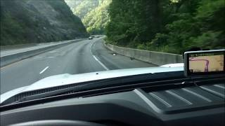 Towing our 5th Wheel Toy Hauler to Pigeon Forge TN w/ Ford 6.7 2012 F-350 Vlog