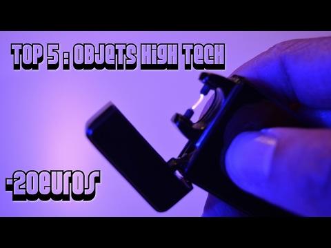 TOP 5 Objets High-Tech Pas Chers à moins de 20€