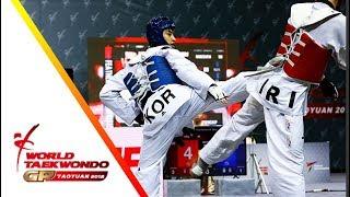 Taoyuan 2018 World Taekwondo GP-Final [male –68kg] Dae-Hoon LEE(KOR) vs Mirhashem HOSSEINI(IRI)