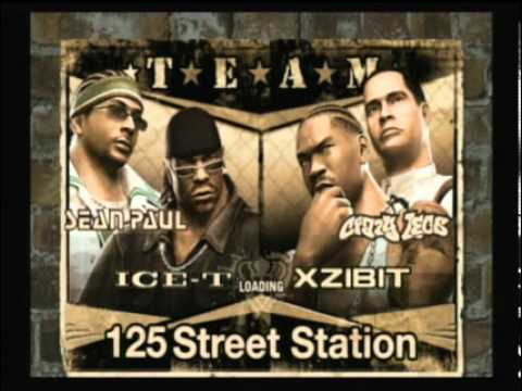 Def Jam Fight for NY Sean Paul and Ice T 1 3